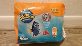 Huggies Little Swimmers, Medium, 18 count in Conroe, Texas
