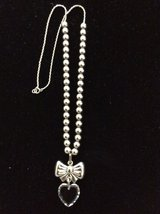 Sterling Silver Bow Necklace in Cleveland, Texas