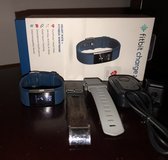 Fitbit charge 2 heart rate activity sleep tracker watch + bands in Warner Robins, Georgia