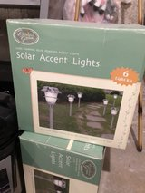 solar accent lights 2 boxes (12 total) in New Lenox, Illinois