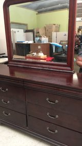 Dresser, Mirror and one night stand in Fort Leonard Wood, Missouri