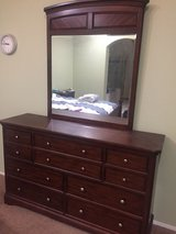 wodden dresser and mirror in Las Vegas, Nevada