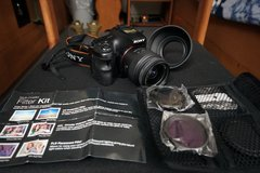Sony SLT A57 16.1MP camera + filters + hood in Okinawa, Japan