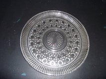 Lrg Pressed Glass Serving Platter in Warner Robins, Georgia