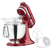 KitchenAid KSM150PSER Artisan Tilt-Head Stand Mixer with Pouring Shield in Lancaster, Pennsylvania