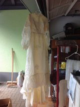 Vintage Wedding Dress with Veil in Ramstein, Germany