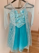 Frozen Elsa costume with wig and lights up shoes in Ramstein, Germany