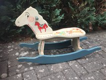 Rocking Horse (antique) painted in Ramstein, Germany