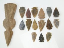 Native Indian Arrowheads & Tomahawk Head in Pearland, Texas