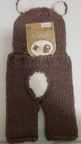 New Brown bear crochet hat and pants in Kingwood, Texas