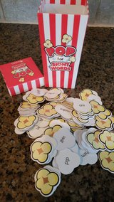 Sight word popcorn/making change flashcards in Kingwood, Texas