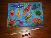 2 Melissa & Doug Magnetic Wooden Puzzle Games: Fishing and Bug Catching in Kingwood, Texas