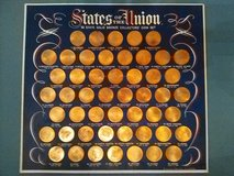 50 State Solid Bronze Collectors Coin Set in Yucca Valley, California