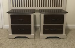 Solid Cherry Nightstands Set in Cary, North Carolina