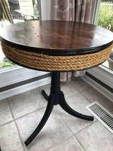 Antique drum table in Bolingbrook, Illinois