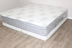 King Size Serta Perfect Sleeper Dunway model mattress in CyFair, Texas