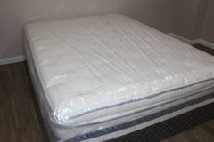 Queen Serta Glenrose Pillowtop Mattress in CyFair, Texas