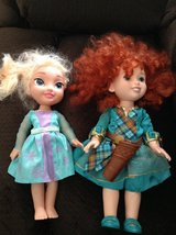 Merida & Elsa Dolls in Wheaton, Illinois