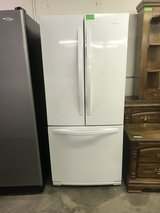White Whirlpool French Door Refrigerator in Fort Leonard Wood, Missouri