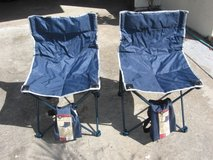 2 collapsable chairs in Camp Pendleton, California