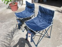 (2) Collapsable outdoor chairs in Oceanside, California