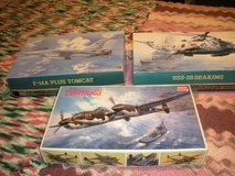 F-14 , HSS-2B, P-38-2B Airplane Models in Barstow, California