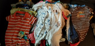 6 month boys clothes (summer) in Travis AFB, California