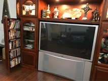 entertainment center and tv in Kingwood, Texas