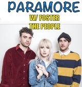 (2) PARAMORE tickets w/ Foster the People in Oceanside, California