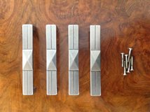 Brushed Stainless Handles - 4 in Ramstein, Germany