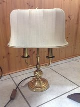 Brass Table Lamp 220 Volt in Ramstein, Germany