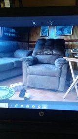Couch and recliner in Camp Lejeune, North Carolina