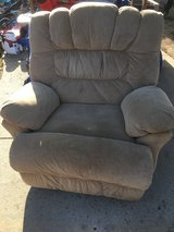 Rocking recliner in Fort Riley, Kansas