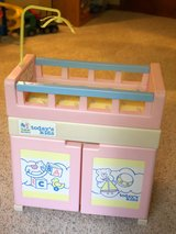 Doll baby bed and bath station in Aurora, Illinois