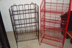 Display racks in DeKalb, Illinois