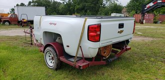 2018 Chevy Dually Bed (White), Tailgate, Rear Bumper, Receiver Hitch & Wiring Harness in The Woodlands, Texas