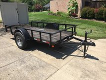 2017 North Shore 5' X 10' Tilt Utility Trailer in Clarksville, Tennessee