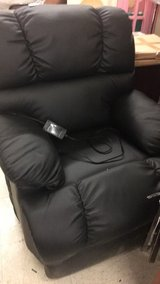 Black Recliner Lift Chair (New) in Fort Leonard Wood, Missouri