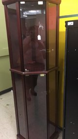Curio Cabinet with Shelf's and nights (New) in Fort Leonard Wood, Missouri