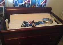 baby diaper changing table dresser drawers in Buckley AFB, Colorado