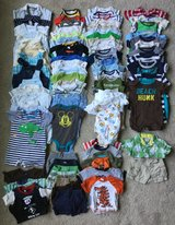 Infant boys summer clothes 3-6m in Bolingbrook, Illinois