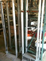 Chatsworth aluminum server rack, floor-mounted in Fort Lewis, Washington
