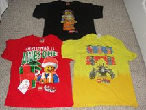 """""""LEGO"""" SHIRTS FROM THE LEGO MOVIE SIZE XL FITS 12/14 MAYBE 10/12 in Camp Lejeune, North Carolina"""