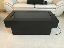 Black Laminate Light Up Infinity Table in Tinley Park, Illinois
