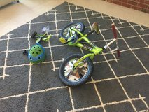 Ninja Turtles Bike with Training Wheels and Helmet in St. Charles, Illinois