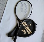 Prince Pro Series 110 Tennis Racket w/ Cover-Very Good Condition 4 3/8 Grip in Aurora, Illinois
