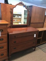 Mahogany Dresser in Camp Lejeune, North Carolina