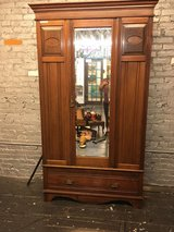 Armoire-big yard sale 8/14/18 in Fort Lewis, Washington