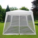 10x10 Outdoor Canopy Screen House in New Lenox, Illinois
