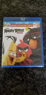 Angry Birds Blu-Ray/DVD Combo (New in Package) in Oswego, Illinois